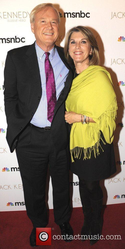 Chris Matthews host of MSNBC's 'Hardball' attends the...