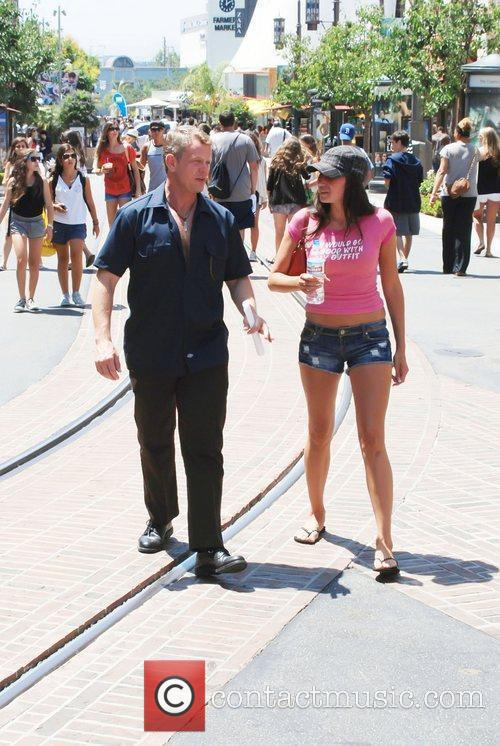 Chriss Anglin shopping at The Grove in West...