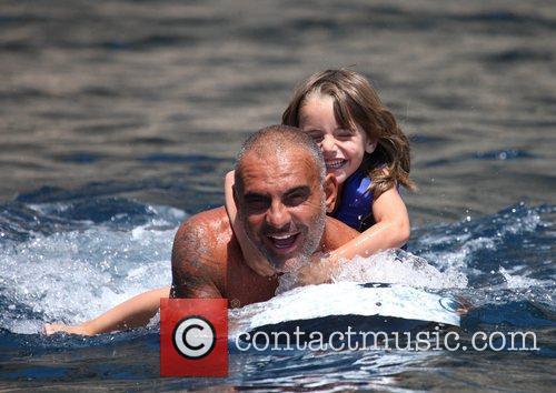 07-29-11 Ibiza, Spain  Christian Audigier spends some...