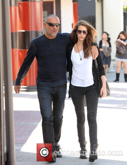 Christian Audigier and his girlfriend Nathalie Sorensen are...