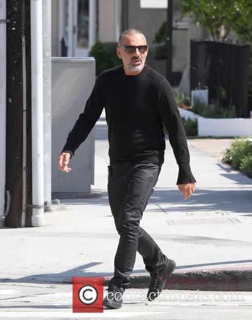 Christian Audigier was spotted shopping for a new...