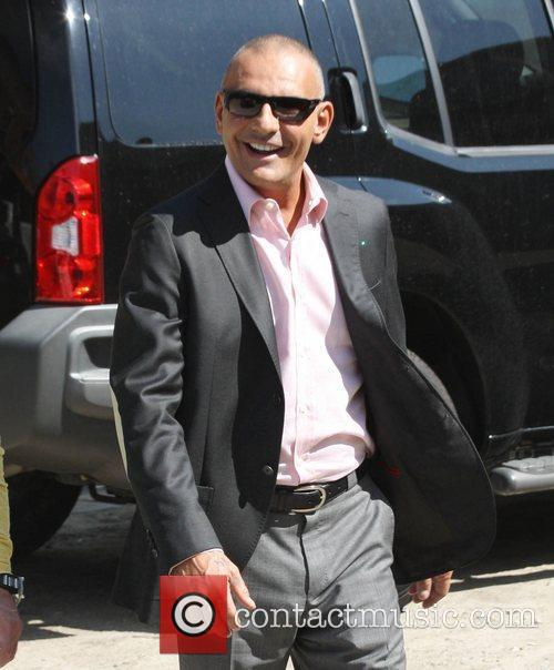 Christian Audigier arrives on the Farenheit 513 movie...