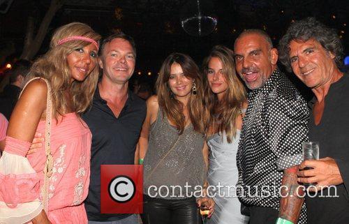 Christian Audigier, Nathalie Sorensen, DJ Pete Tong and...