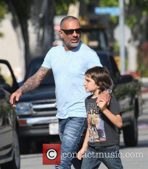Christian Audigier takes his three sons, Dylan, Rocco...