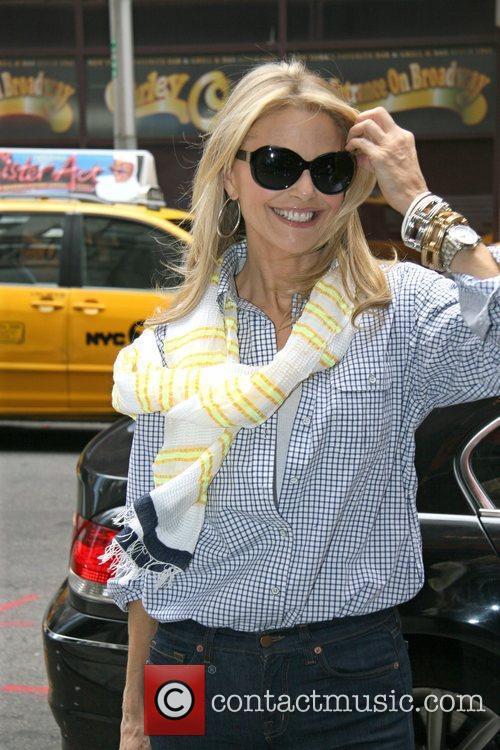 Christie Brinkley is seen arriving at the Ambassador...