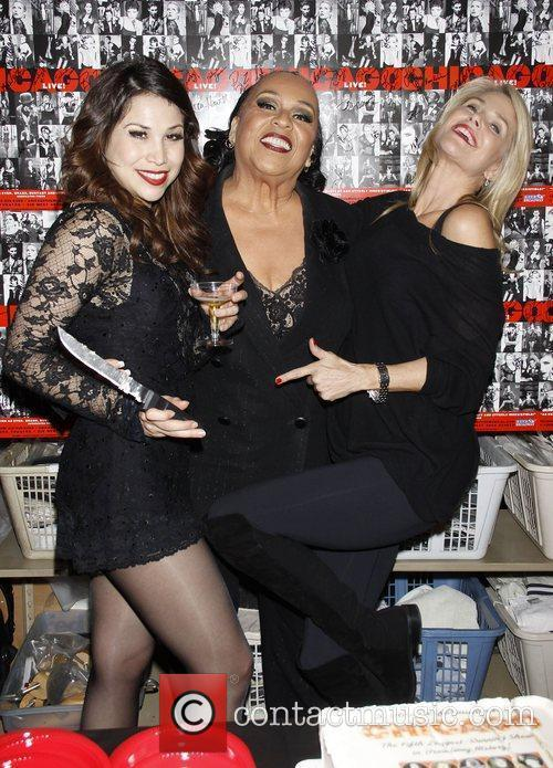 Bianca Marroquin, Roz Ryan and Christie Brinkley Backstage...