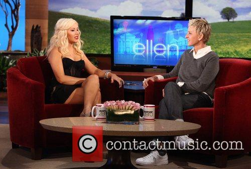 Christina Aguilera of 'The Voice' makes an appearance...