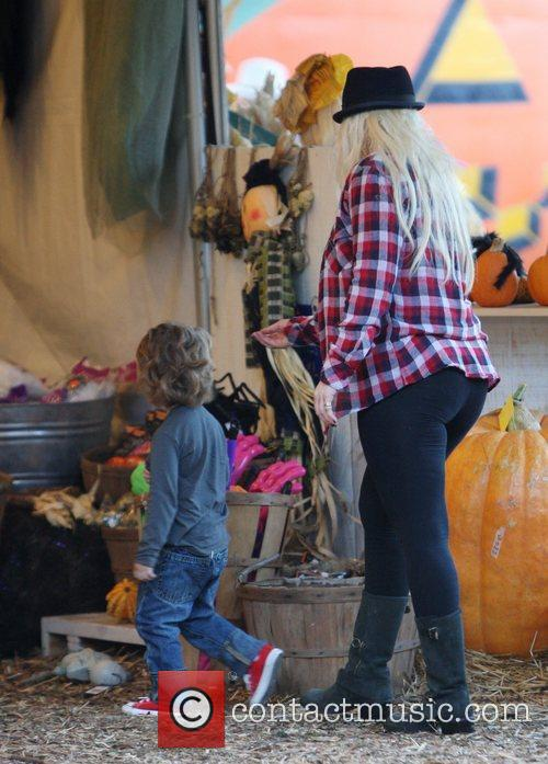 At Mr Bones Pumpkin Patch in West Hollywood