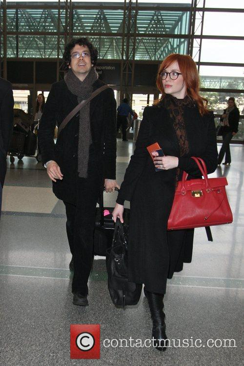 Christina Hendricks and Geoffrey Arend 6