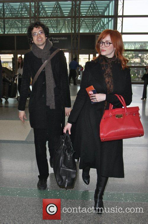 Christina Hendricks and Geoffrey Arend 8