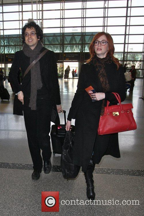 Christina Hendricks and Geoffrey Arend 7