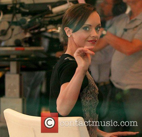 Christina Ricci and Good Morning America 8