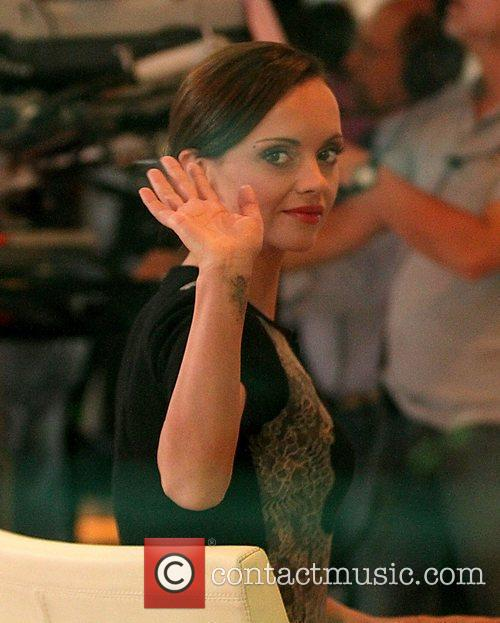 Christina Ricci and Good Morning America 6