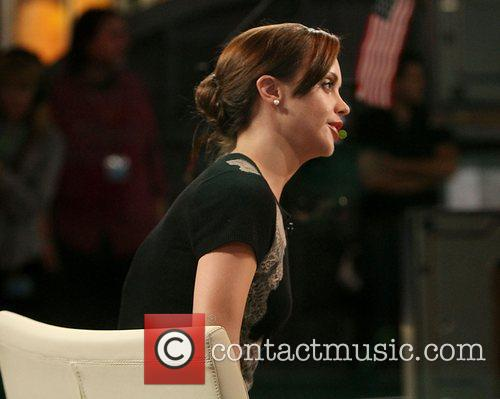 Christina Ricci and Good Morning America 5