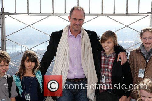 Christopher Meloni with children from Only Make Believe...