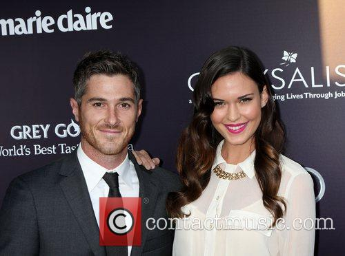 Dave Annable and Odette Annable The 10th Annual...