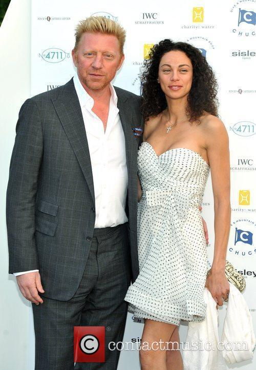 Boris Becker and Lilly Becker Chucs Dive and...