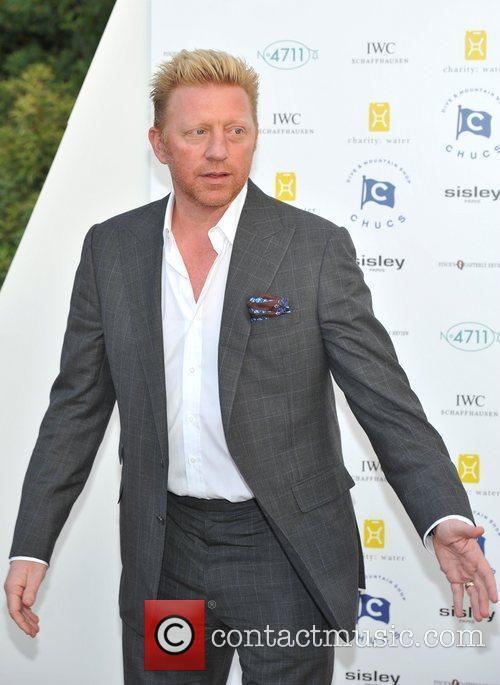 Boris Becker Chucs Dive and Mountain Shop Charity...