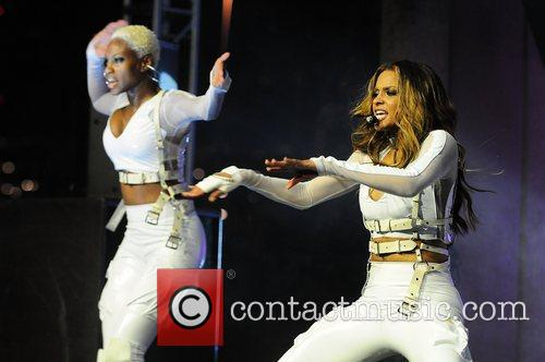 Ciara performs during the Kick Off of Malibu...