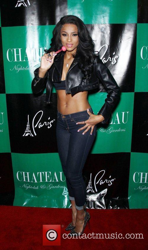 Ciara appears at Chateau Nightclub and Gardens at...