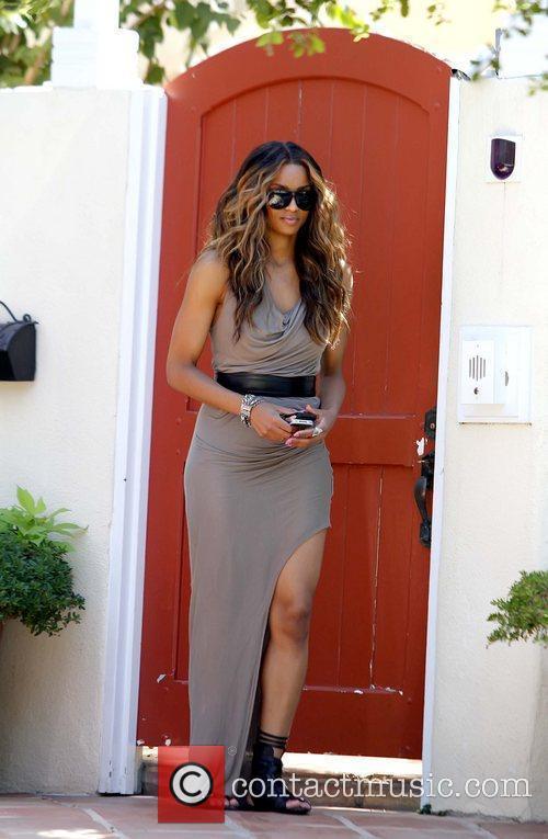 Ciara aka Ciara Princess Harris arriving at a...