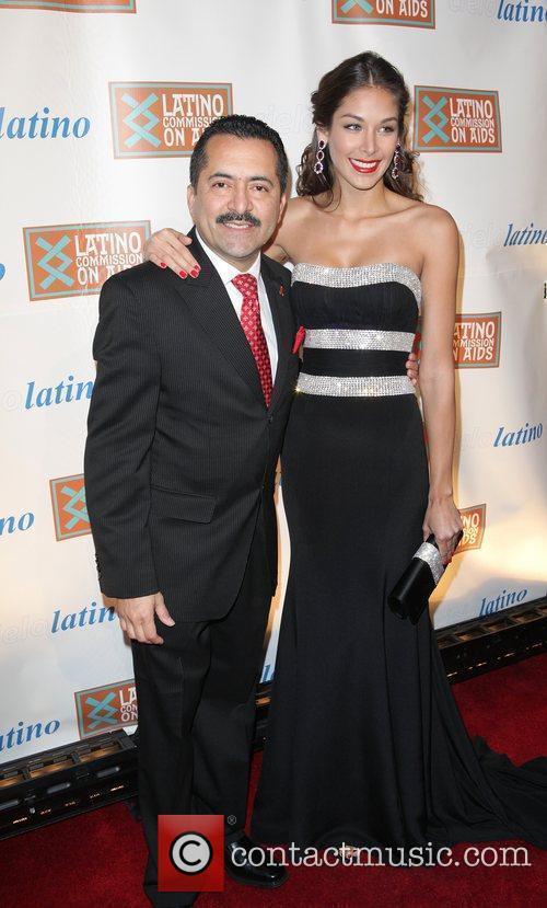 Guillermo Chacon, Dayana Mendoza 2011 CIELO Gala at...