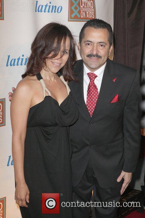 Rosie Perez, Guillermo Chacon 2011 CIELO Gala at...