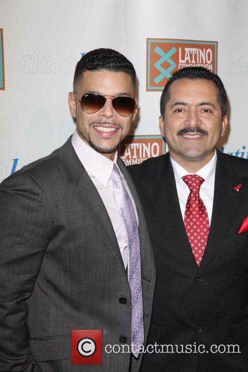 Wilson Cruz, Guillermo Chacon 2011 CIELO Gala at...