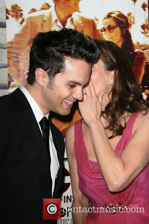 Thomas Dekker and Diane Lane Los Angeles Premiere...