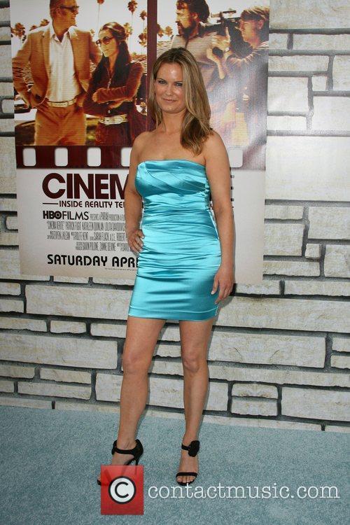 Danielle Sapia Los Angeles Premiere of HBO's Cinema...