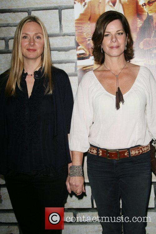 Hope Davis and Marcia Gay Harden 4