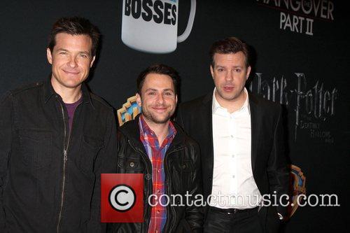 Jason Bateman, Charlie Day, Jason Sudeikis at the...