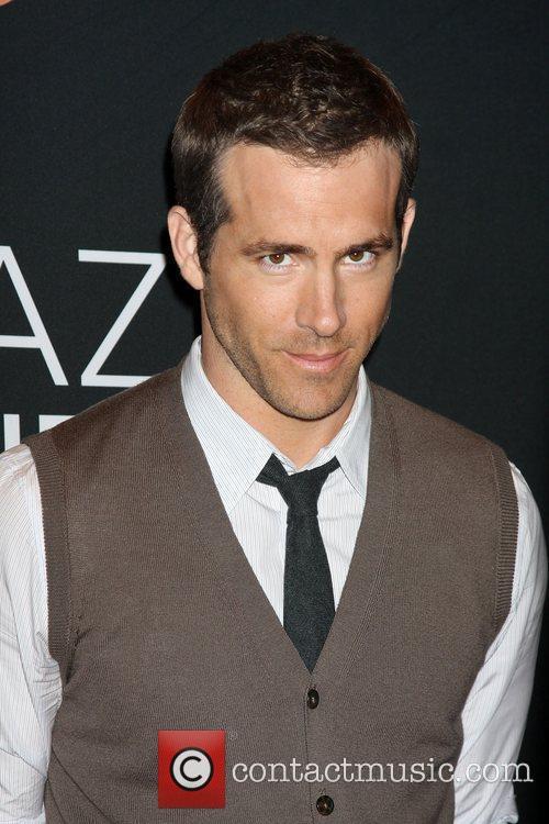 Ryan Reynolds at the Warner Brother Presentation at...