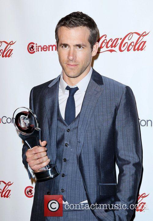 Ryan Reynolds CinemaCon 2011 Big Screen Achievement Awards,...