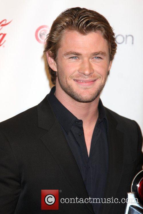Chris Hemsworth CinemaCon 2011 Big Screen Achievement Awards...