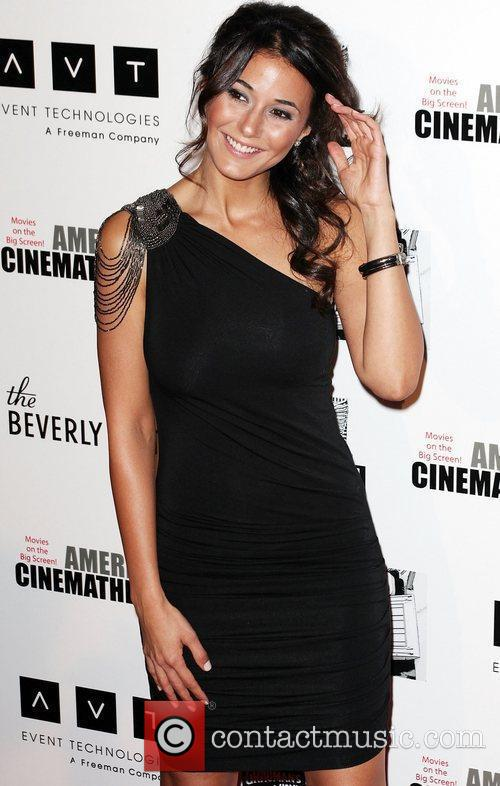 Emmanuelle Chriqui and Beverly Hilton Hotel 2