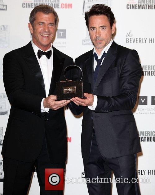 Mel Gibson, Robert Downey Jr and Beverly Hilton Hotel 10
