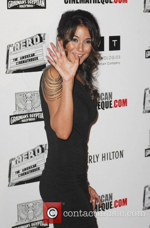 Emmanuelle Chriqui and Beverly Hilton Hotel 9