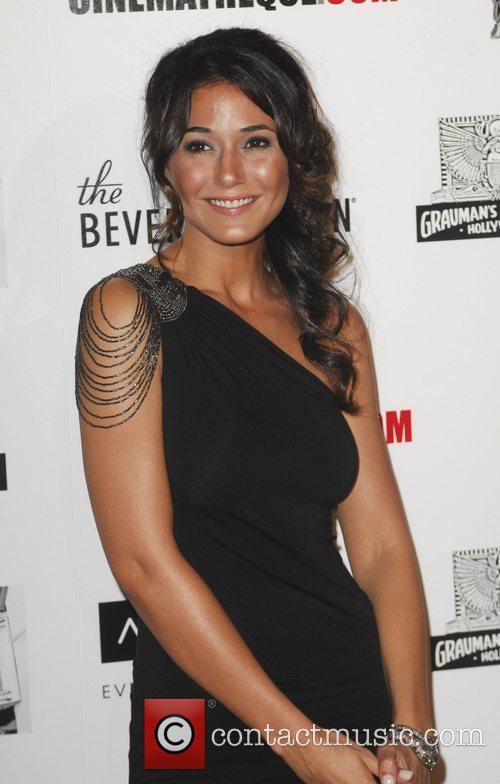 Emmanuelle Chriqui and Beverly Hilton Hotel 6