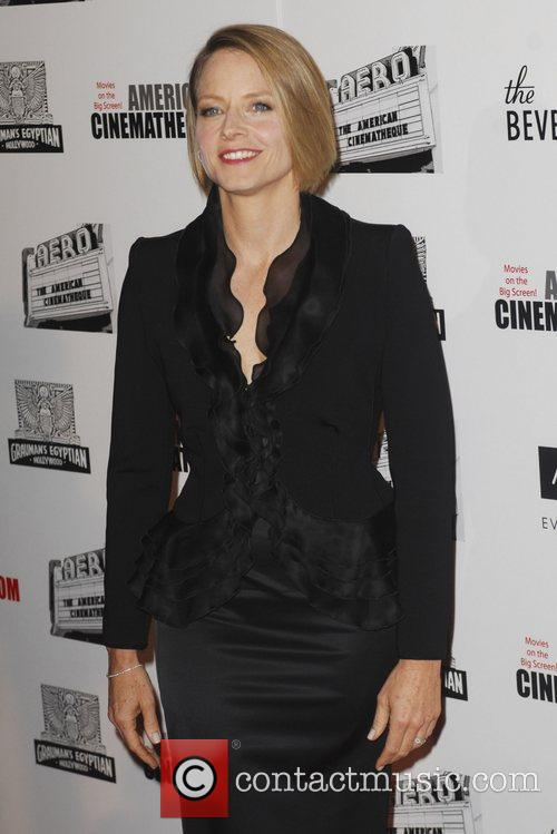 Jodie Foster and Beverly Hilton Hotel 12