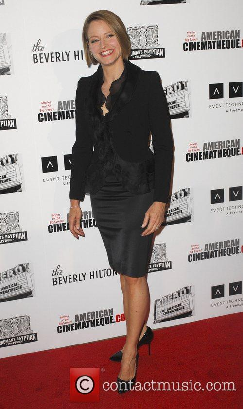 Jodie Foster and Beverly Hilton Hotel 13