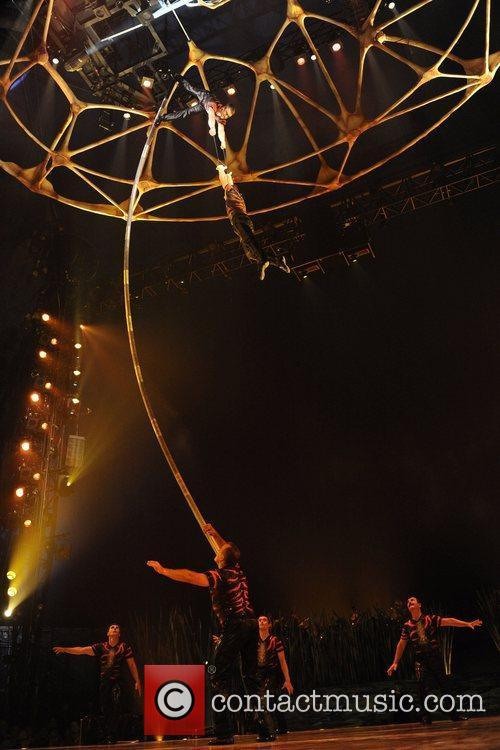 Private preview night of Cirque Du Soleil's 'TOTEM'.