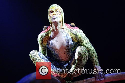 Private preview night of Cirque Du Soleil's 'TOTEM'....