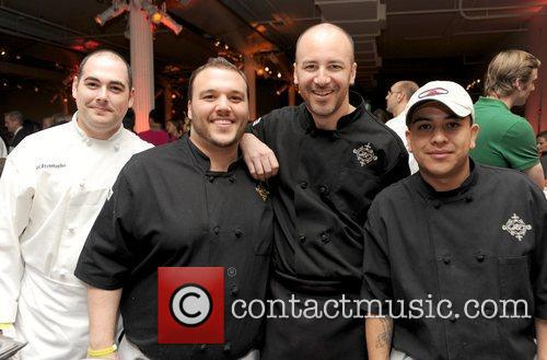Chris Santos and Crew City Harvest hosts the...