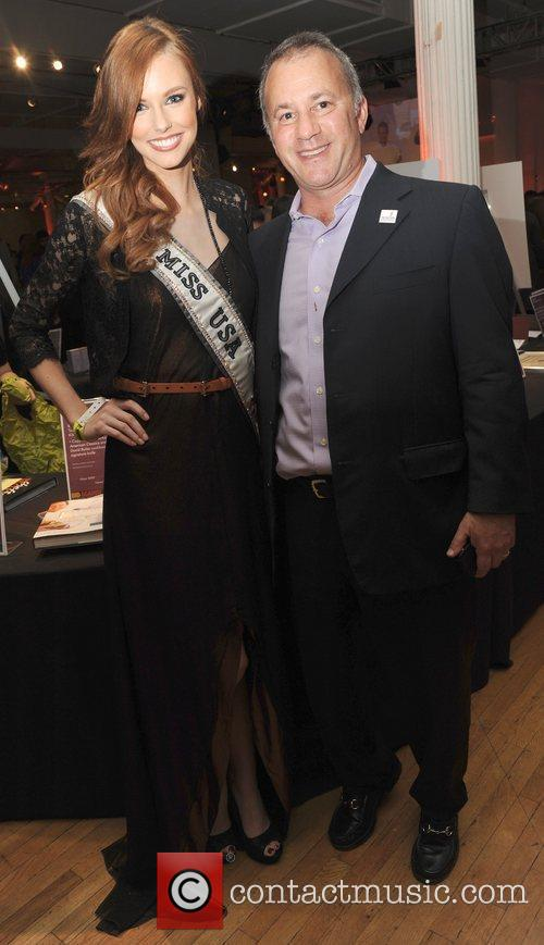 Miss USA Alyssa Campanella and Guest City Harvest...