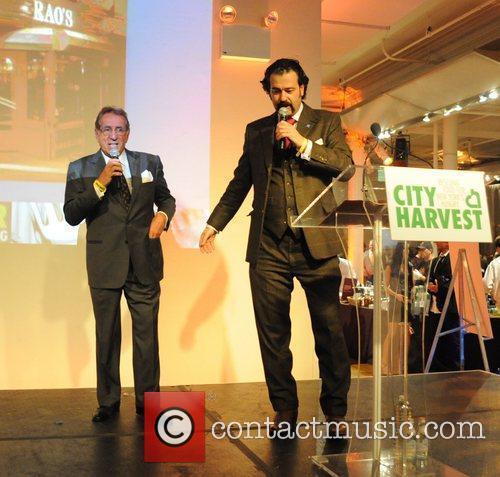 Nicholas D. Lowry (R) City Harvest hosts the...