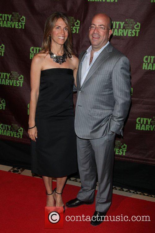 Caryn Stephanie Nathanson, Jeff Zucker  City Harvest's...