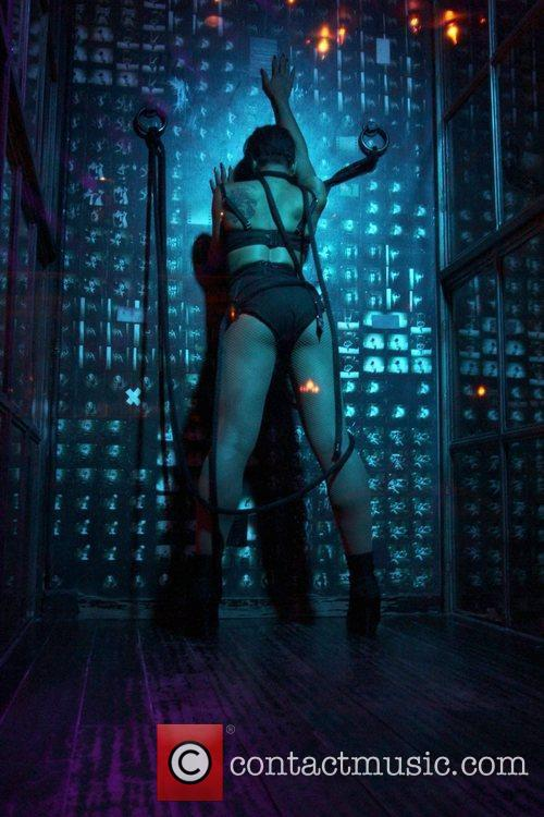Angel Champagne hosts 'City of Angels' at Voyeur...