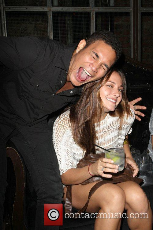 Briana Evigan and guest Angel Champagne hosts 'City...