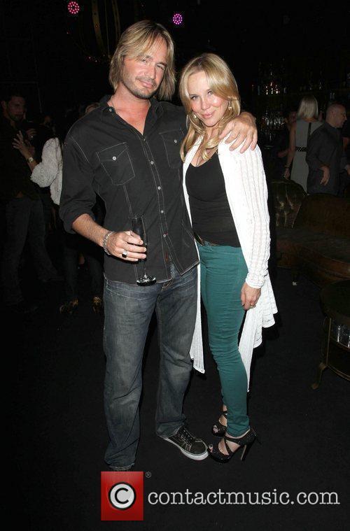 Kari Whitman with her boyfriend Angel Champagne hosts...